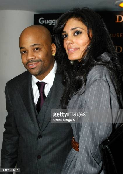 Damon Dash and Rachel Roy during Dior Sponsors the Solomon R Guggenheim Museum's Young Collectors Council Artist's Ball Honoring Matthew Ritchie at...