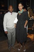 Damon Dash and Rachel Roy during Prada Celebrates The Opening of The 'Waist Down Skirts by Miuccia Prada' Exhibition Arrivals at Prada Soho Epicenter...