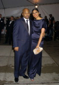 Damon Dash and Rachel Roy during The Costume Institute's Gala Celebrating 'Chanel' at The Metropolitan Museum of Art in New York City New York United...