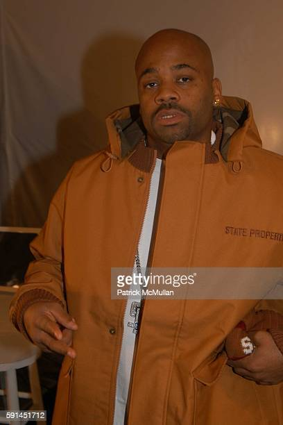 Damon Dash attends Child Magazine Fashion Show at The Atelier Tent at Bryant Park on February 7 2005 in New York City
