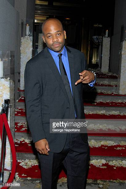 Damon Dash attends Petra Nemcova's Happy Hearts Fund 'Heart of Gold Ball' at Cipriani Wall Street on October 10 2007 in New York City