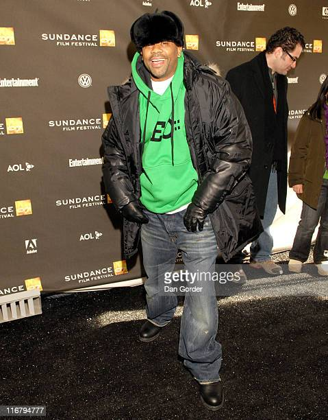 Damon Dash during 2007 Sundance Film Festival 'Weapons' Premiere at Racquet Club Theater in Park City Utah United States