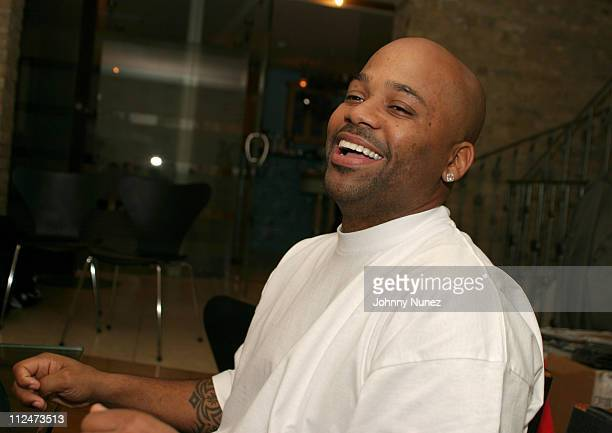 Damon Dash during Damon Dash and Naomi Campbell Host 'America Magazine' UK Launch Party at Club Eve in London Great Britain