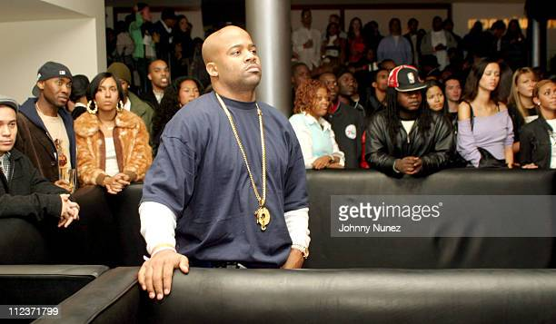 Damon Dash during Kanye West's Performance at the Canal Room at The Canal Room in New York City New York United States