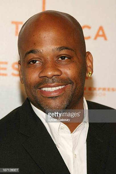 Damon Dash during Opening of The Tribeca Film Festival Premiere of 'SOS Short Film Program' Red Carpet Arrivals at BMCC Tribeca PAC at 199 Chambers...