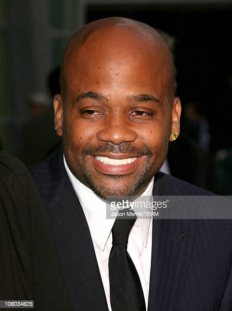 Damon Dash during 'Shadowboxer' Los Angeles Premiere Arrivals at Arclight Theatre in Hollywood California United States