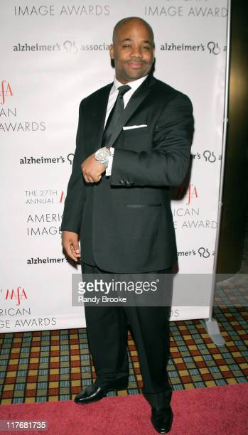 Damon Dash during The 2005 AAFA American Image Awards Red Carpet in New York City New York United States