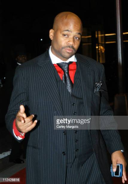Damon Dash during Usher's 26th Birthday Party at Rainbow Room in New York City New York United States
