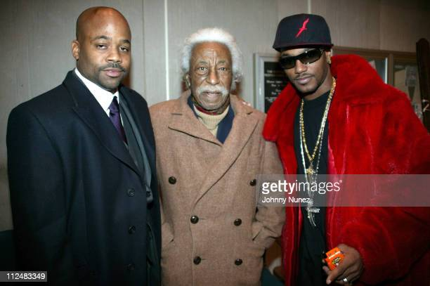 Damon Dash Gordon Parks and Camron during FAX Honors Gordon Parks and Damon Dash at FIT College in New York City New York United States
