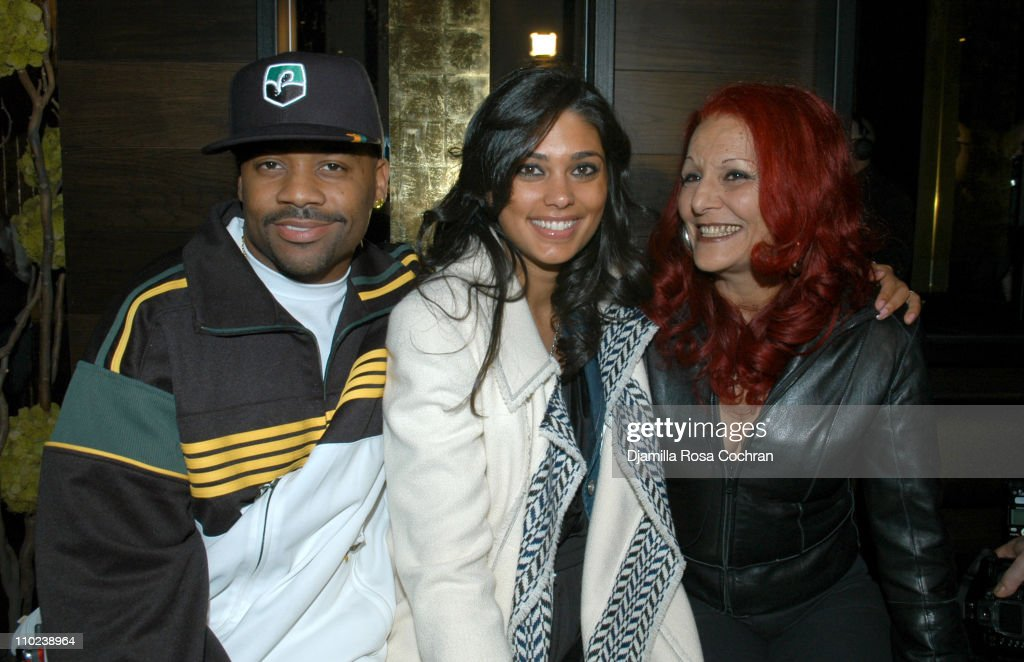 Damon Dash Rachel Roy and Patricia Field during Patricia Field for the House of Rocawear Lounge at Ono at the Hotel Gansevort in New York City New...