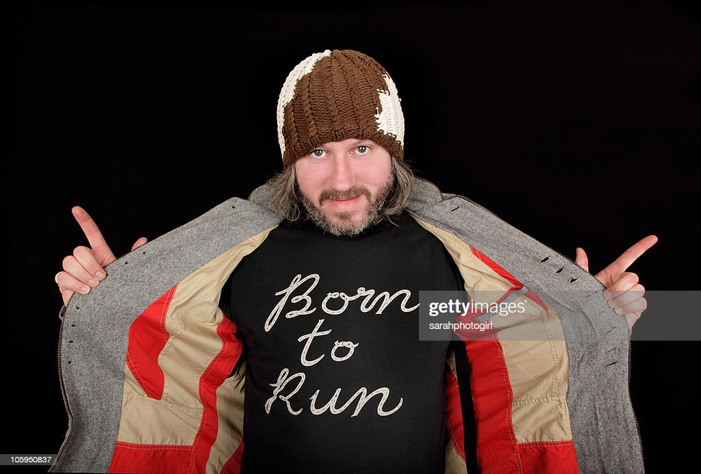 Damon Gough of Badly Drawn Boy poses for pictures at Spa Theatre on October 22, 2010 in Scarborough, England.
