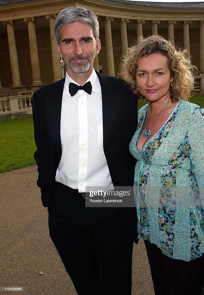 <a gi-track='captionPersonalityLinkClicked' href=/galleries/search?phrase=Damon+Hill&family=editorial&specificpeople=195346 ng-click='$event.stopPropagation()'>Damon Hill</a> and wife Georgie during 2005 British Grand Prix Ball at Stowe House in Stowe, Great Britain.