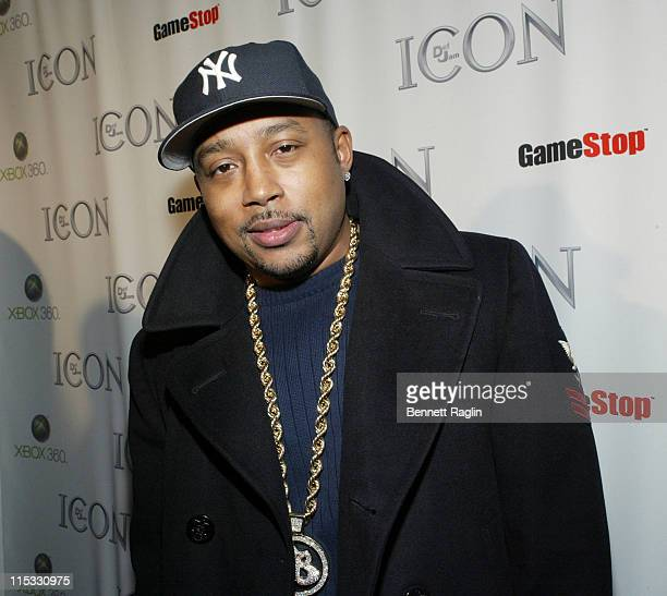 Damon John CoFounder of FUBU during Def Jam Interactive and Electronic Arts Celebrate the Release of 'Def Jam ICON' at Ultra in New York New York...
