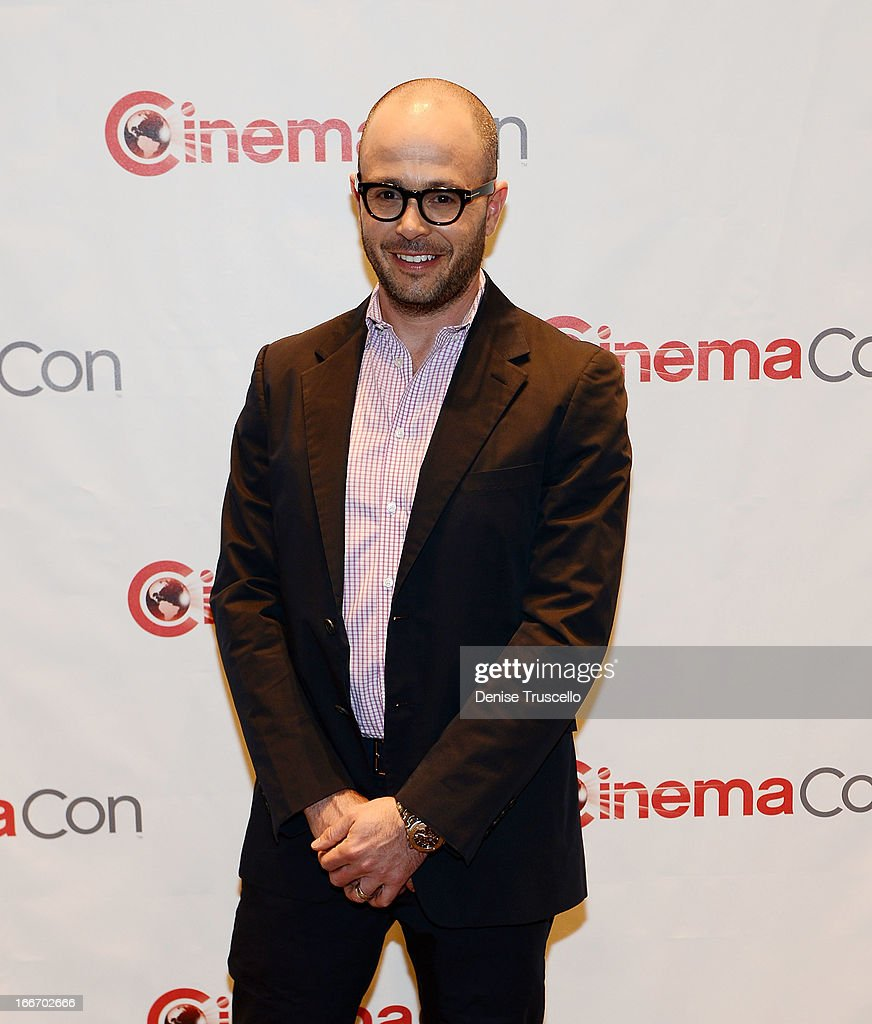 <a gi-track='captionPersonalityLinkClicked' href=/galleries/search?phrase=Damon+Lindelof&family=editorial&specificpeople=582642 ng-click='$event.stopPropagation()'>Damon Lindelof</a> arrives at CinemaCon 2013 Paramount opening night party and presentation at Caesars Palace on April 15, 2013 in Las Vegas, Nevada.