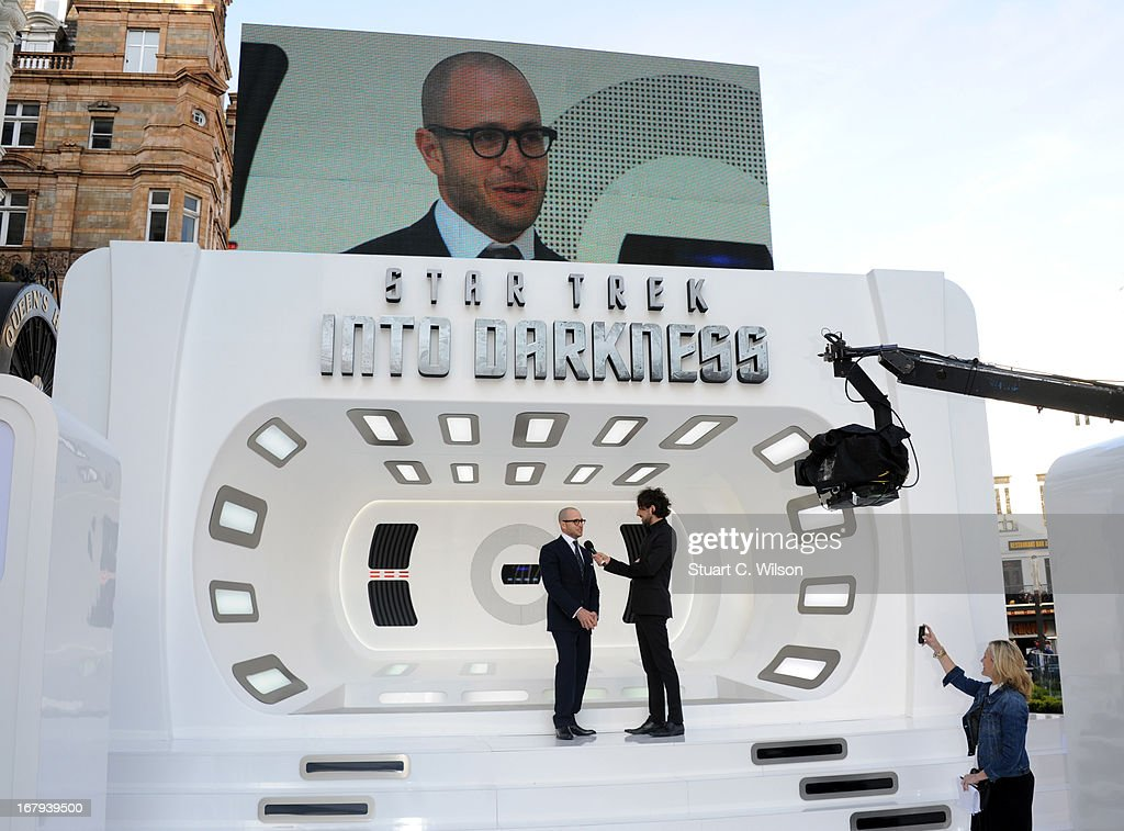 Damon Lindelof attends the UK Premiere of 'Star Trek Into Darkness' at The Empire Cinema on May 2, 2013 in London, England.