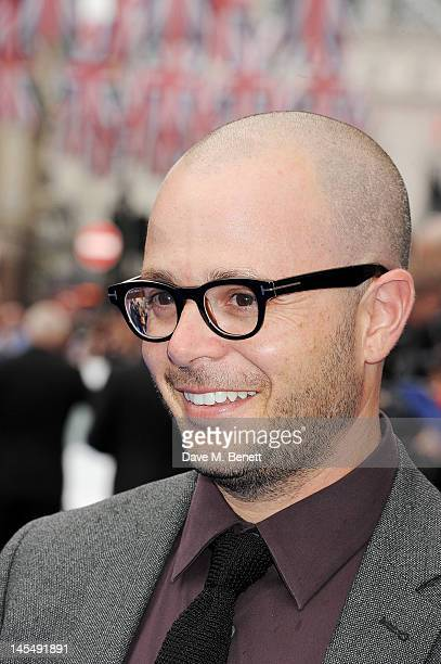 Damon Lindelof attends the World Premiere of 'Prometheus' at Empire Leicester Square on May 31 2012 in London England