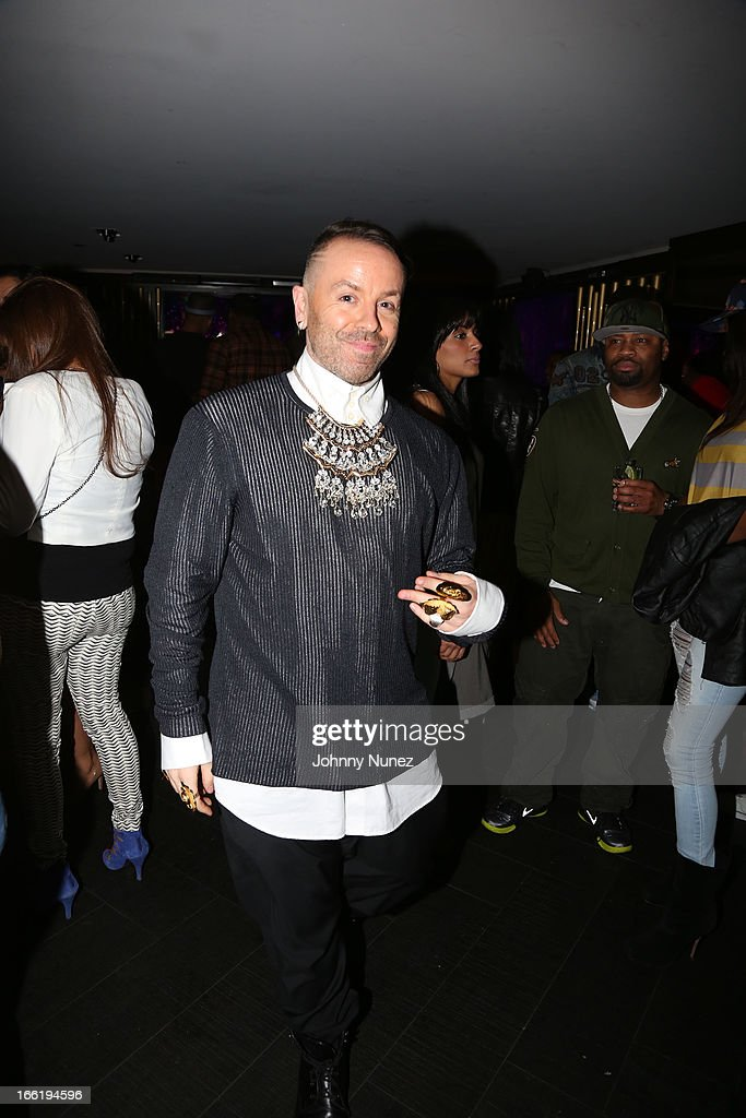 Damon Peruzzi attends Bridget Kelly's Birthday Celebration at the 40 / 40 Club on April 9, 2013 in New York City.