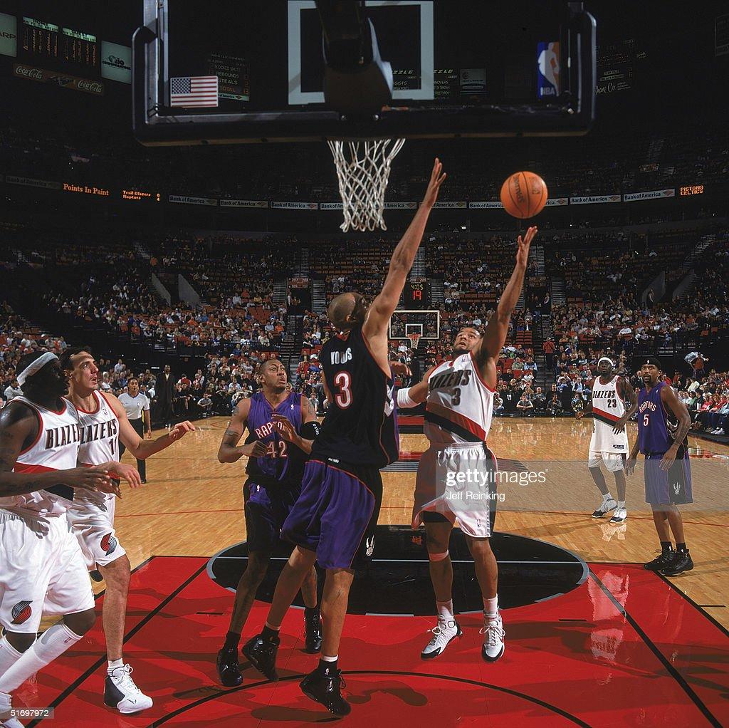 Toronto Raptors v Portland Trail Blazers s and