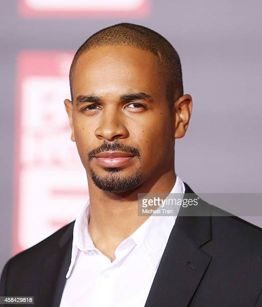 Damon Wayans Jr arrives at the Los Angeles premiere of 'Big Hero 6' held at the El Capitan Theatre on November 4 2014 in Hollywood California