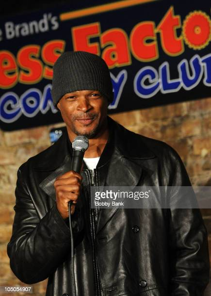 Damon Wayans performs at The Stress Factory Comedy Club on October 7 2010 in New Brunswick New Jersey
