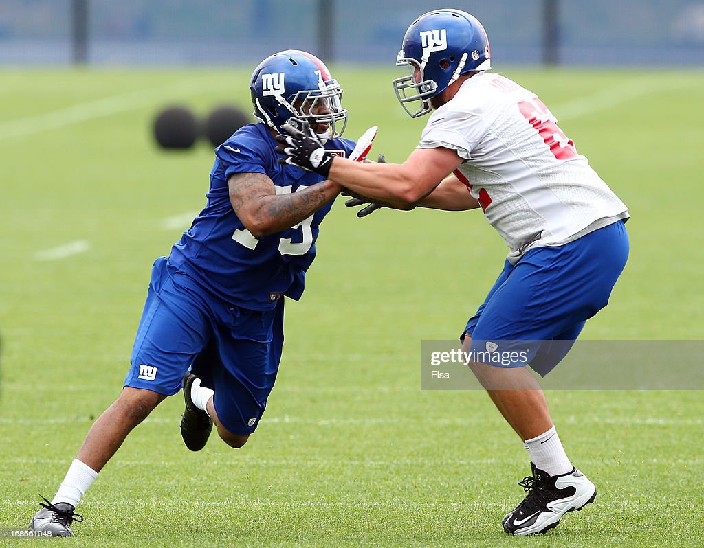 Cheap NFL Jerseys - New York Giants Rookie Camp Photos and Images | Getty Images