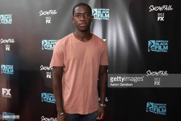 Damson Idris attends 2017 American Black Film Festival on June 16 2017 in Miami Florida