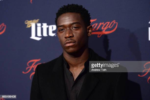 Damson Idris attends the FX Network 2017 AllStar Upfront at SVA Theater on April 6 2017 in New York City