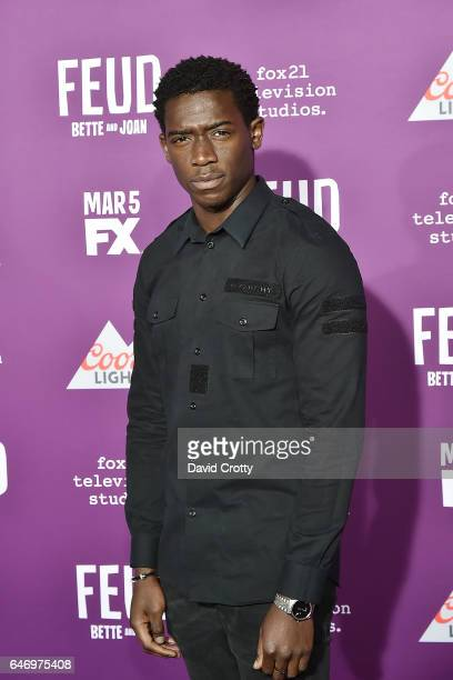 Damson Idris attends the Premiere of FX Network's 'Feud Bette And Joan' Arrivals at Grauman's Chinese Theatre on March 1 2017 in Hollywood California