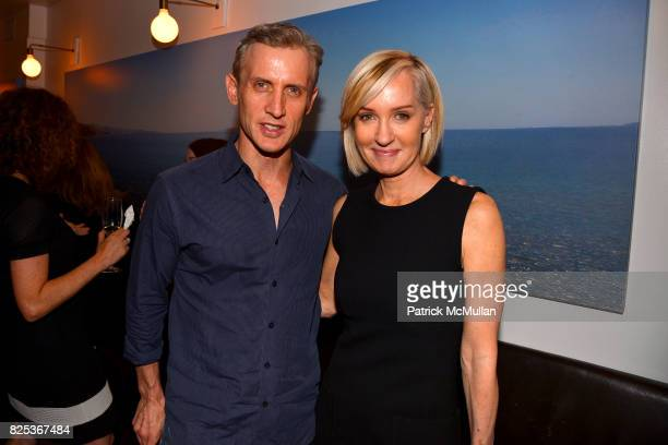 Dan Abrams and Hilary Quinlan attend Michael Gelman Celebrates The Launch Of CLASS MOM A Novel By Laurie Gelman at Loi Estiatorio on July 26 2017 in...