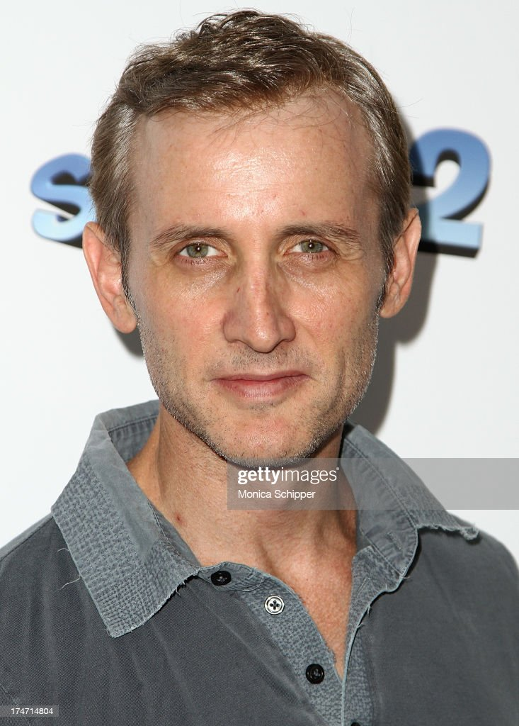<a gi-track='captionPersonalityLinkClicked' href=/galleries/search?phrase=Dan+Abrams&family=editorial&specificpeople=243057 ng-click='$event.stopPropagation()'>Dan Abrams</a> attends 'The Smurfs 2' New York Blue Carpet Screening at Lighthouse International Theater on July 28, 2013 in New York City.
