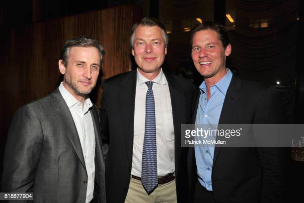 Dan Abrams Richard Johnson and David Zinczenko attend Book Release Party for VICKY WARD's New Book 'THE DEVIL'S CASINO' at Four Seasons Restaurant on...