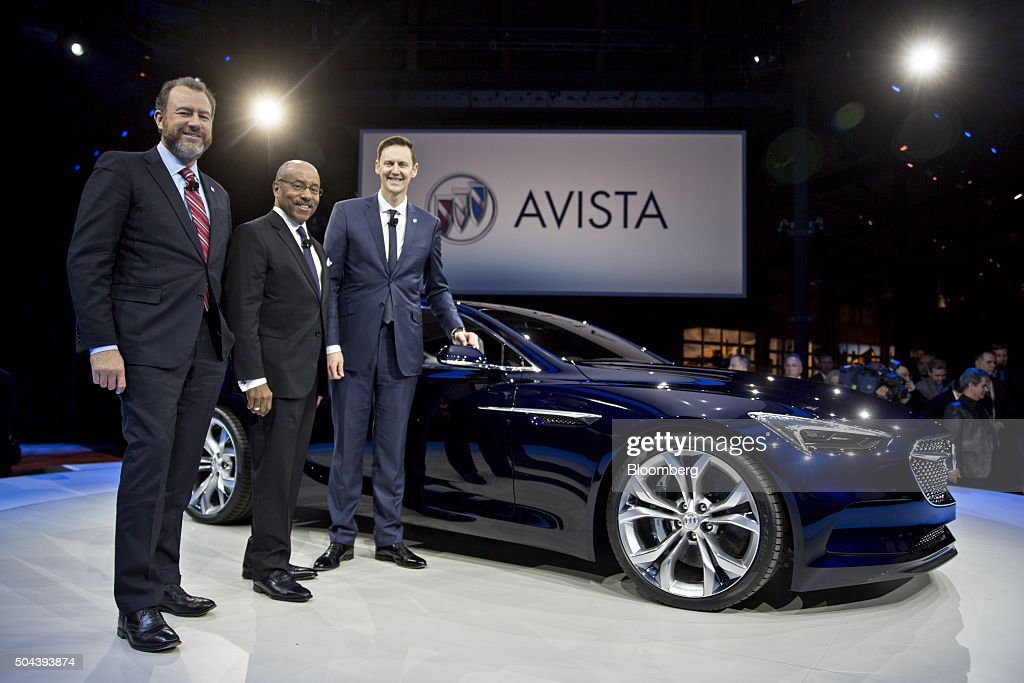 General Motors Co Buick Event Ahead Of The 2016 North