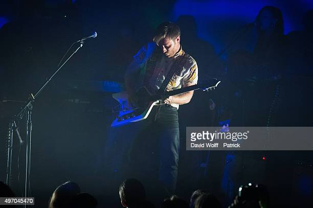 Dan Auerbach from The Arcs performs at Le Trianon on November 13 2015 in Paris France