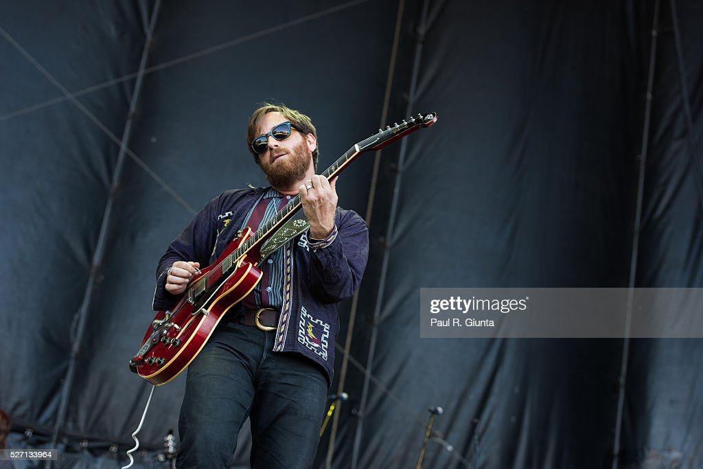 Dan Auerbach of The Arcs performs on stage at the Beale Street Music Festival on May 1, 2016 in Memphis, Tennessee.