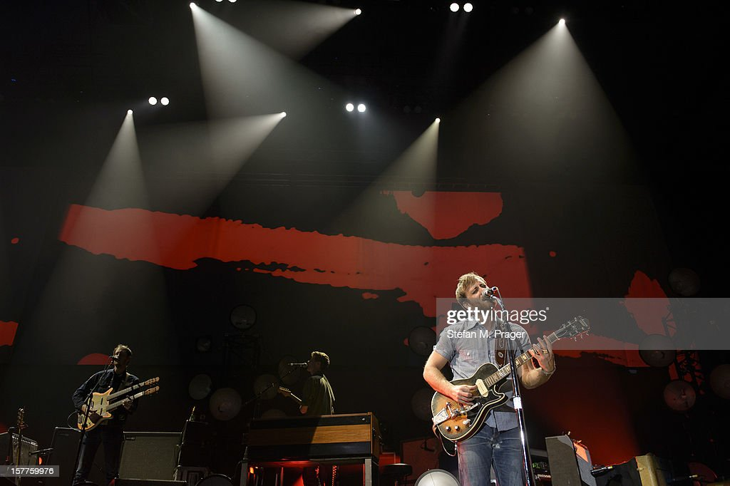 Dan Auerbach of The Black Keys performs at Olympiahalle on December 4, 2012 in Munich, Germany.