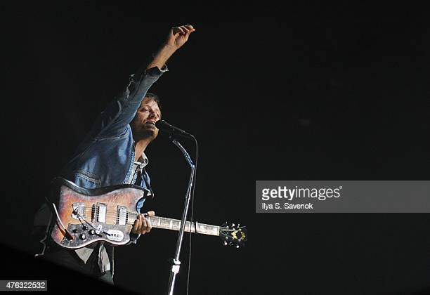 Dan Auerbach of The Black Keys performs during 2015 Governors Ball Music Festival Day 3 at Randall's Island on June 7 2015 in New York City