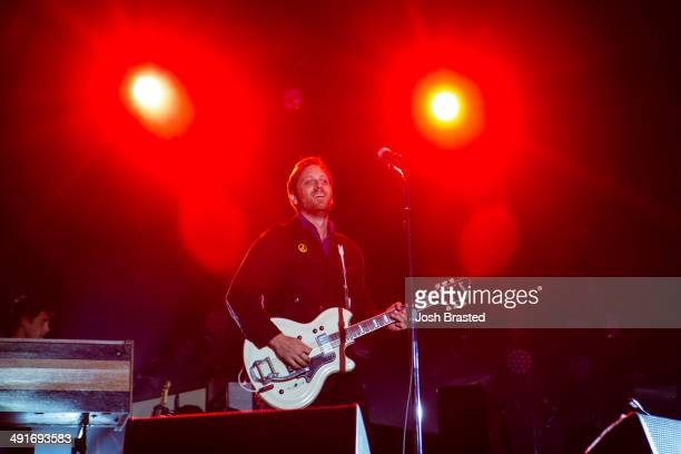 Dan Auerbach of The Black Keys performs during the 2014 Hangout Music Festival on May 16 2014 in Gulf Shores Alabama