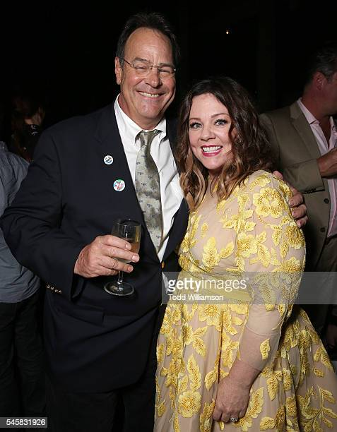 Dan Aykroyd and Melissa McCarthy atttend the premiere of Sony Pictures' 'Ghostbusters' at TCL Chinese Theatre on July 9 2016 in Hollywood California