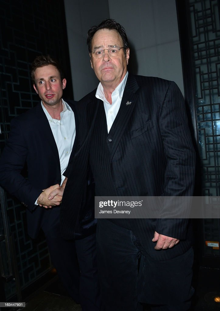 <a gi-track='captionPersonalityLinkClicked' href=/galleries/search?phrase=Dan+Aykroyd&family=editorial&specificpeople=206819 ng-click='$event.stopPropagation()'>Dan Aykroyd</a> attends SNL after party at Buddakan on March 10, 2013 in New York City.