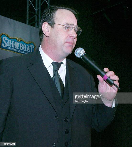 Dan Aykroyd during Dan Aykroyd Announces the 10th House of Blues to be Built at the Showboat in Atlantic City at Showboat House of Blues in Atlantic...