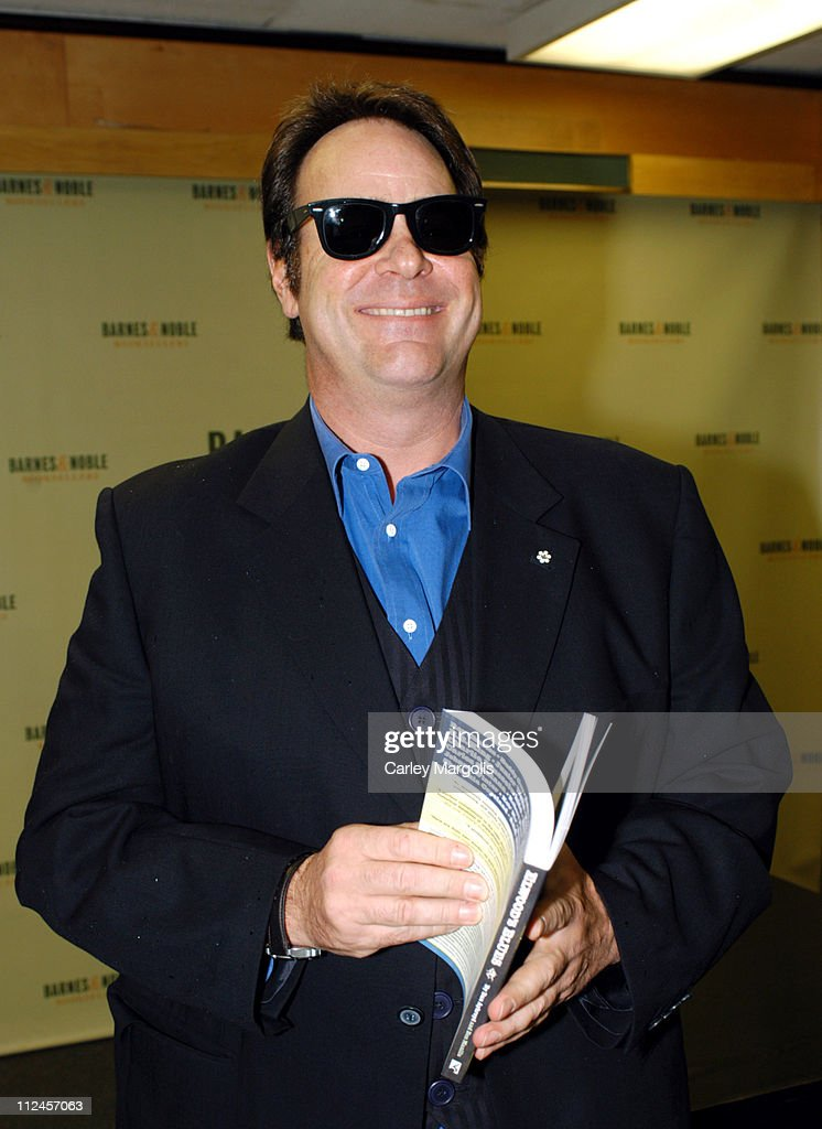 "Dan Aykroyd Signs Copies of his New Book ""Elwood's Blues: Interviews with the"