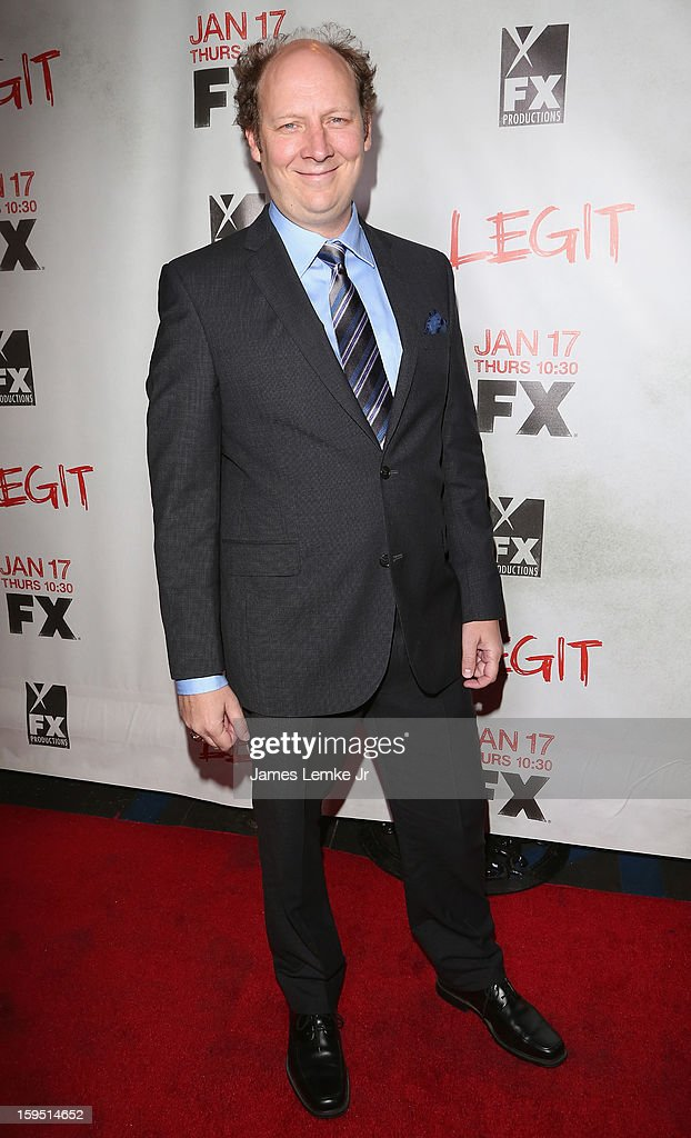 Dan Bakkedahl attends the FX's New Comedy Series 'Legit' Premiere Screening held at the Fox Studio Lot on January 14, 2013 in Century City, California.
