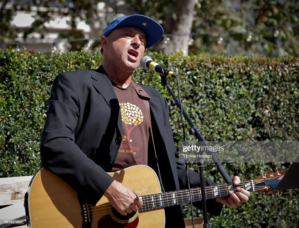 Dan Bern performs at the Premiere of Amazon's 'The Stinky And Dirty Show' at Pacific Theaters at the Grove on August 18 2016 in Los Angeles California