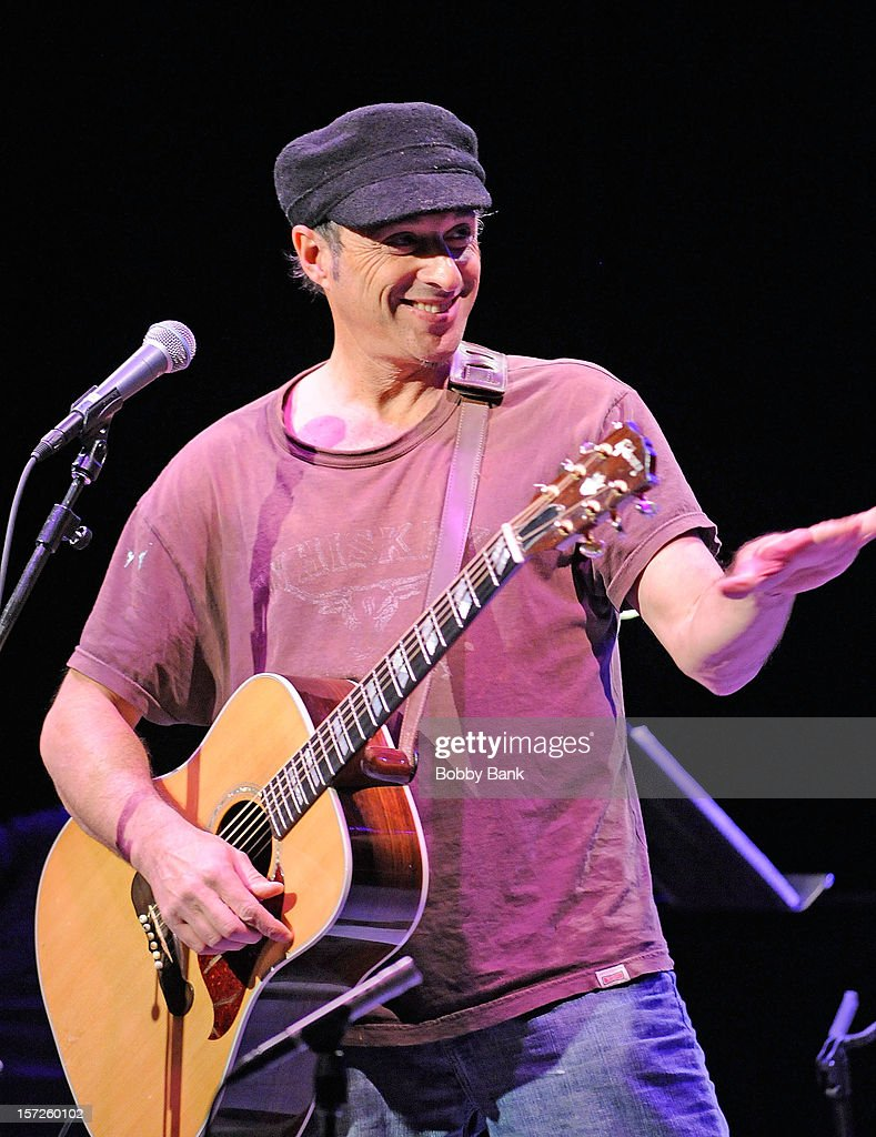 Dan Bern performs during the 32nd Annual John Lennon Tribute at Symphony Space on November 30 2012 in New York City