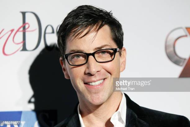 Dan Bucatinsky arrives at 'An Evening Under The Stars' benefiting the LA Gay Lesbian Center held on October 19 2013 in Los Angeles California