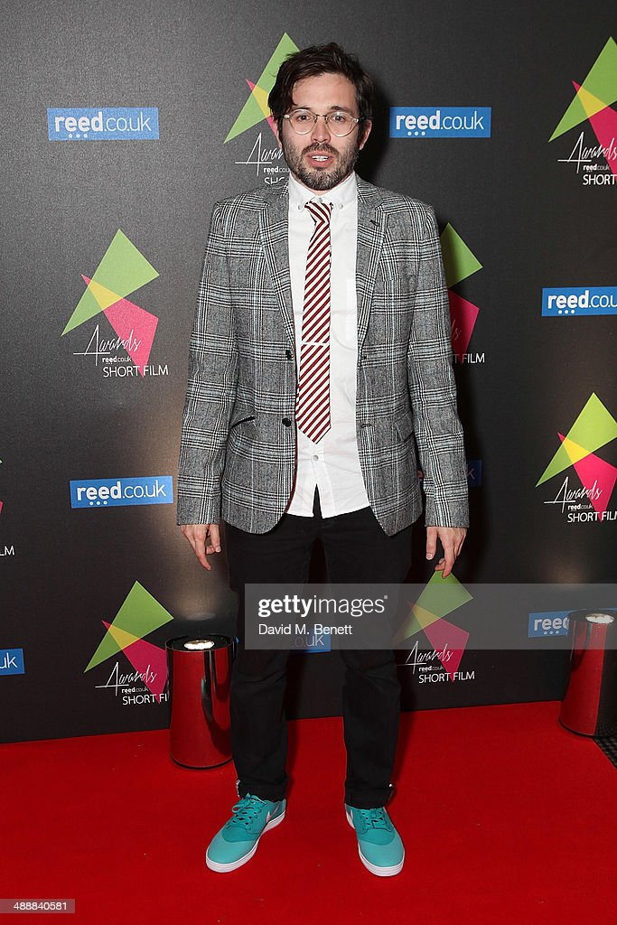 Dan Castella attends the reed.co.uk Short Film Awards 2014 at BAFTA on May 8, 2014 in London, England.