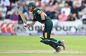 Dan Christian of Nottinghamshire bats during the NatWest T20 Blast match between Worcestershire and Nottinghamshire at New Road on June 18 2016 in...