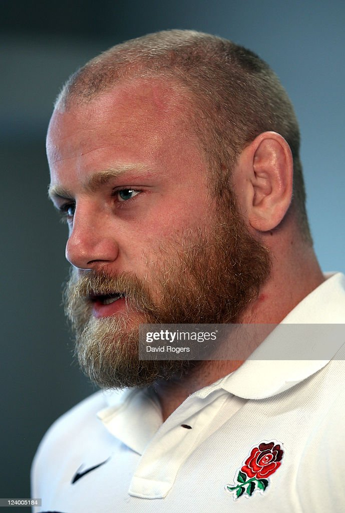 Dan Cole, who has been selected to play for England in their first match of the World Cup against Argentina, talks to the media during an England IRB Rugby World Cup 2011 team announcement at the Southern Cross Hotel on September 8, 2011 in Dunedin, New Zealand.