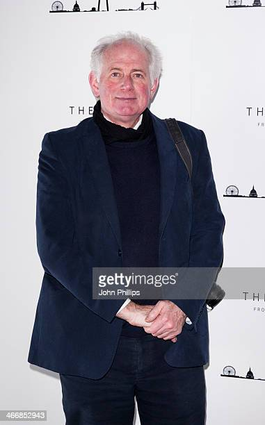 Dan Cruickshank attends the 1st birthday party at The View from The Shard on February 4 2014 in London England