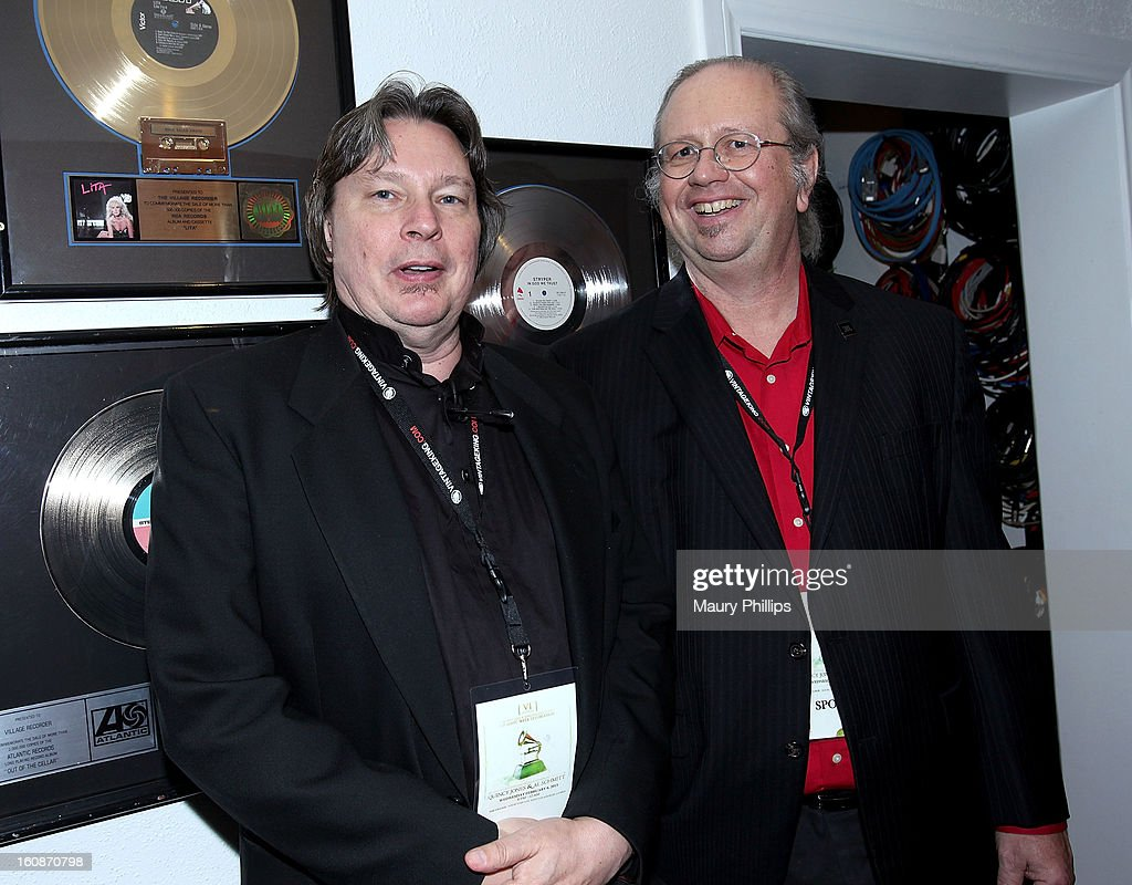 Dan Daley and Mark Gander attend The 55th Annual GRAMMY Awards - Producers and Engineers Wing event honoring Quincy Jones And Al Schmitt on February 6, 2013 in Los Angeles, California.